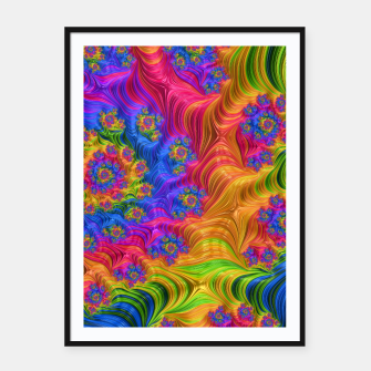 Thumbnail image of Bright Mind Framed poster, Live Heroes