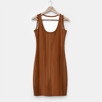 Thumbnail image of Artistic MINIDRESS with Wood strucure III, Live Heroes