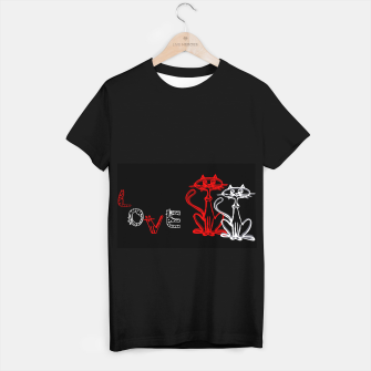 Thumbnail image of love is in the air T-shirt regular, Live Heroes
