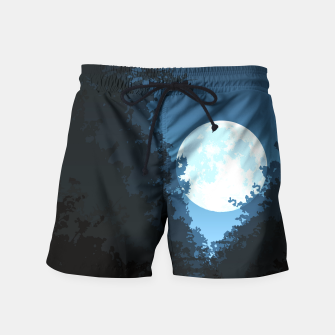 Thumbnail image of Into The Woods Swim Shorts, Live Heroes