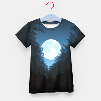 Thumbnail image of Into The Woods Kid's T-shirt, Live Heroes