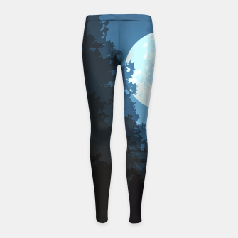 Thumbnail image of Into The Woods Girl's Leggings, Live Heroes