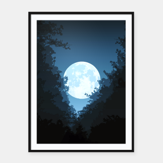 Thumbnail image of Into The Woods Framed poster, Live Heroes