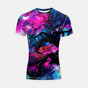 Starfield Tree Shortsleeve Rashguard thumbnail image