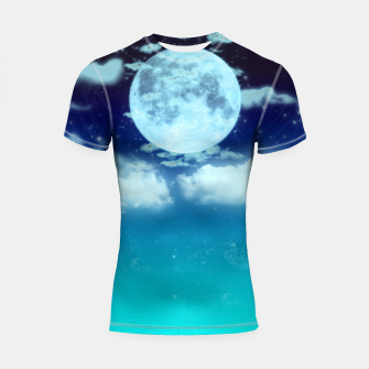Dreamy Night Shortsleeve Rashguard thumbnail image