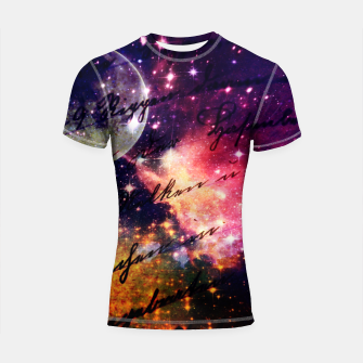 Letter from outer space Shortsleeve Rashguard thumbnail image
