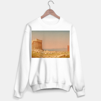 Miniatur Ruins of the Parthenon Athenian Acropolis Greece Oil Painting  Sweater regular, Live Heroes