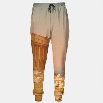 Thumbnail image of Ruins of the Parthenon Athenian Acropolis Greece Oil Painting  Sweatpants, Live Heroes