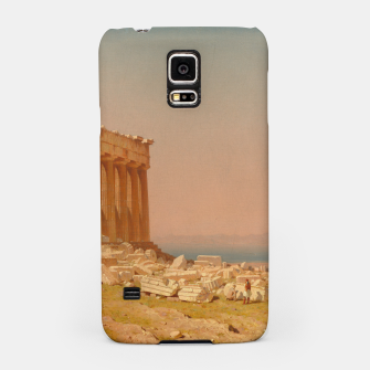 Thumbnail image of Ruins of the Parthenon Athenian Acropolis Greece Oil Painting  Samsung Case, Live Heroes