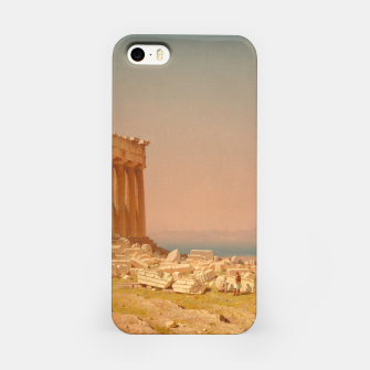 Thumbnail image of Ruins of the Parthenon Athenian Acropolis Greece Oil Painting  iPhone Case, Live Heroes