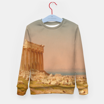 Thumbnail image of Ruins of the Parthenon Athenian Acropolis Greece Oil Painting  Kid's Sweater, Live Heroes