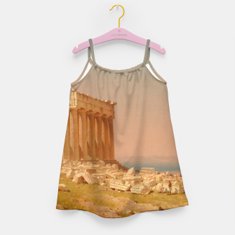 Thumbnail image of Ruins of the Parthenon Athenian Acropolis Greece Oil Painting  Girl's Dress, Live Heroes