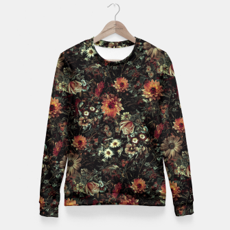 Thumbnail image of Vintage Garden IV Fitted Waist Sweater, Live Heroes