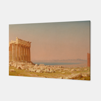 Thumbnail image of Ruins of the Parthenon Athenian Acropolis Greece Oil Painting  Canvas, Live Heroes