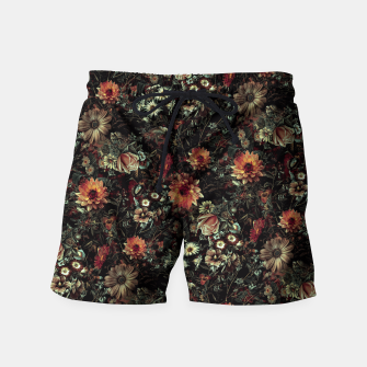 Thumbnail image of Vintage Garden IV Swim Shorts, Live Heroes