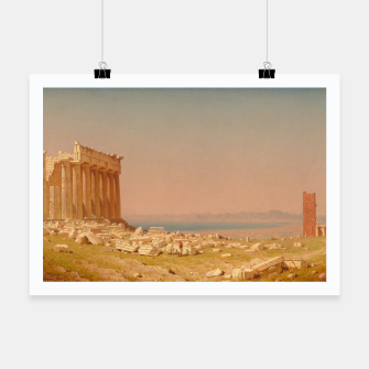 Thumbnail image of Ruins of the Parthenon Athenian Acropolis Greece Oil Painting  Poster, Live Heroes