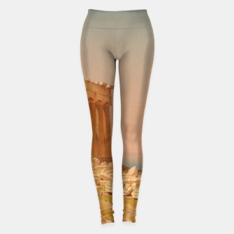 Thumbnail image of Ruins of the Parthenon Athenian Acropolis Greece Oil Painting  Leggings, Live Heroes