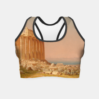 Thumbnail image of Ruins of the Parthenon Athenian Acropolis Greece Oil Painting  Crop Top, Live Heroes