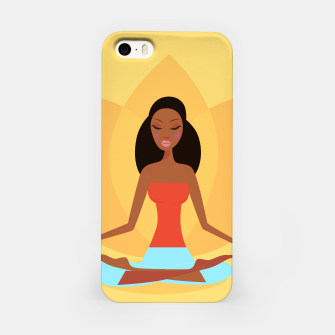 Thumbnail image of iPhone CASE with Meditation yoga Girl Original, Live Heroes