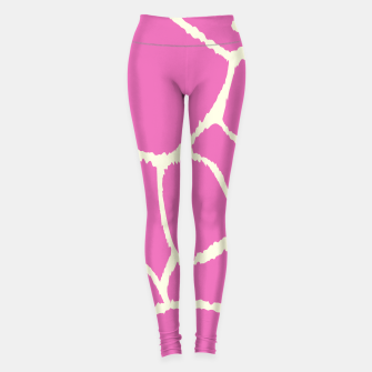 Thumbnail image of Sporty Leggings : PINK HOT GIRAFFE II, Live Heroes
