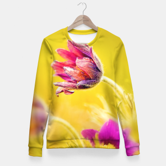 Thumbnail image of Spring Sleeping Flower Fitted Waist Sweater, Live Heroes