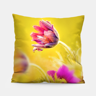 Thumbnail image of Spring Sleeping Flower Pillow, Live Heroes