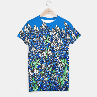 Thumbnail image of Texas Bluebonnets T-shirt, Live Heroes