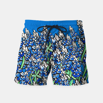 Thumbnail image of Texas Bluebonnets Swim Shorts, Live Heroes