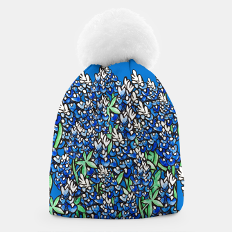 Thumbnail image of Texas Bluebonnets Beanie, Live Heroes