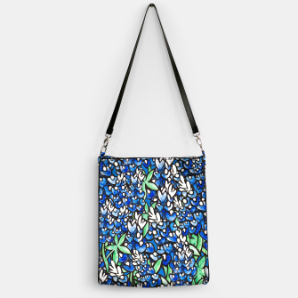 Thumbnail image of Texas Bluebonnets Handbag, Live Heroes