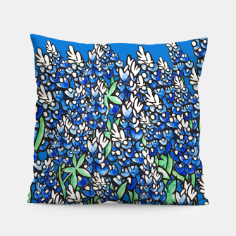 Thumbnail image of Texas Bluebonnets Pillow, Live Heroes