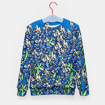 Thumbnail image of Texas Bluebonnets Kid's Sweater, Live Heroes