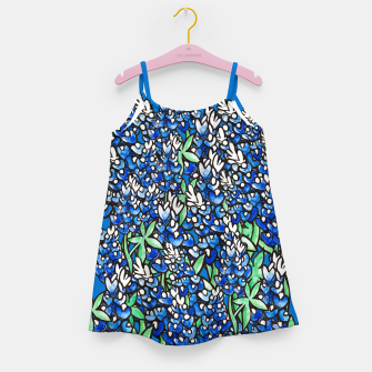 Thumbnail image of Texas Bluebonnets Girl's Dress, Live Heroes