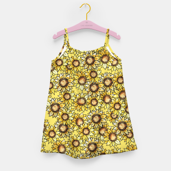 Thumbnail image of Sunflowers everywhere summer sun Girl's Dress, Live Heroes