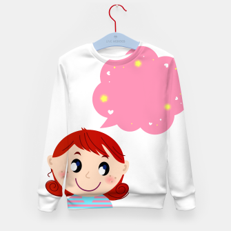 Miniaturka Amazing Kids sweater with Lovable Manga girl, Live Heroes