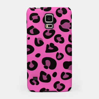 Miniatur Samsung Case : Pink and Black Jaguar III, Live Heroes