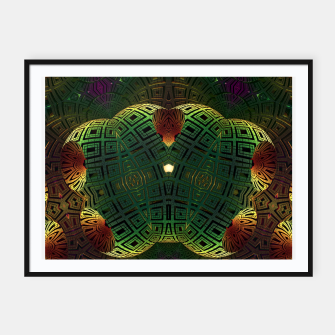Thumbnail image of Alien Artifact AAKM1m90 Framed poster, Live Heroes