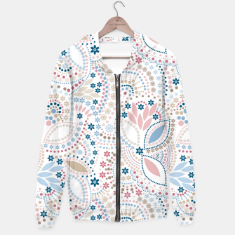 Thumbnail image of Seamless beads pattern in pastel colors Hoodie, Live Heroes