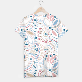 Thumbnail image of Seamless beads pattern in pastel colors T-shirt, Live Heroes