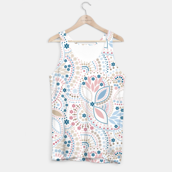 Thumbnail image of Seamless beads pattern in pastel colors Tank Top, Live Heroes