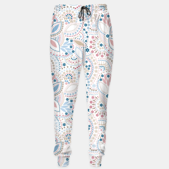 Thumbnail image of Seamless beads pattern in pastel colors Sweatpants, Live Heroes