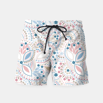 Thumbnail image of Seamless beads pattern in pastel colors Swim Shorts, Live Heroes