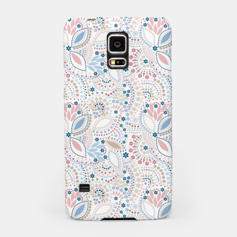 Thumbnail image of Seamless beads pattern in pastel colors Samsung Case, Live Heroes