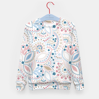 Thumbnail image of Seamless beads pattern in pastel colors Kid's Sweater, Live Heroes
