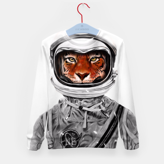 Thumbnail image of Astro Tiger Kid's Sweater, Live Heroes