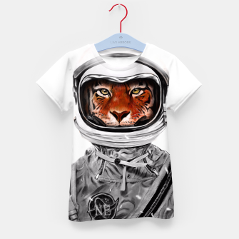 Thumbnail image of Astro Tiger Kid's T-shirt, Live Heroes