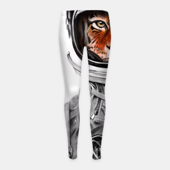 Thumbnail image of Astro Tiger Girl's Leggings, Live Heroes