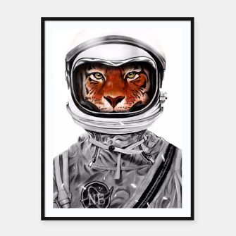 Thumbnail image of Astro Tiger Framed poster, Live Heroes