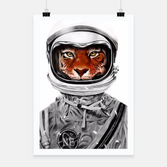 Thumbnail image of Astro Tiger Poster, Live Heroes