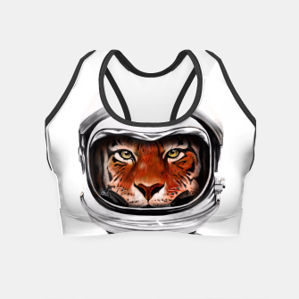 Thumbnail image of Astro Tiger Crop Top, Live Heroes